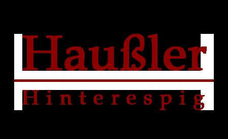 Haußler Hinterespig Logo